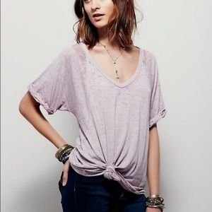We the Free Slouchy V-Neck